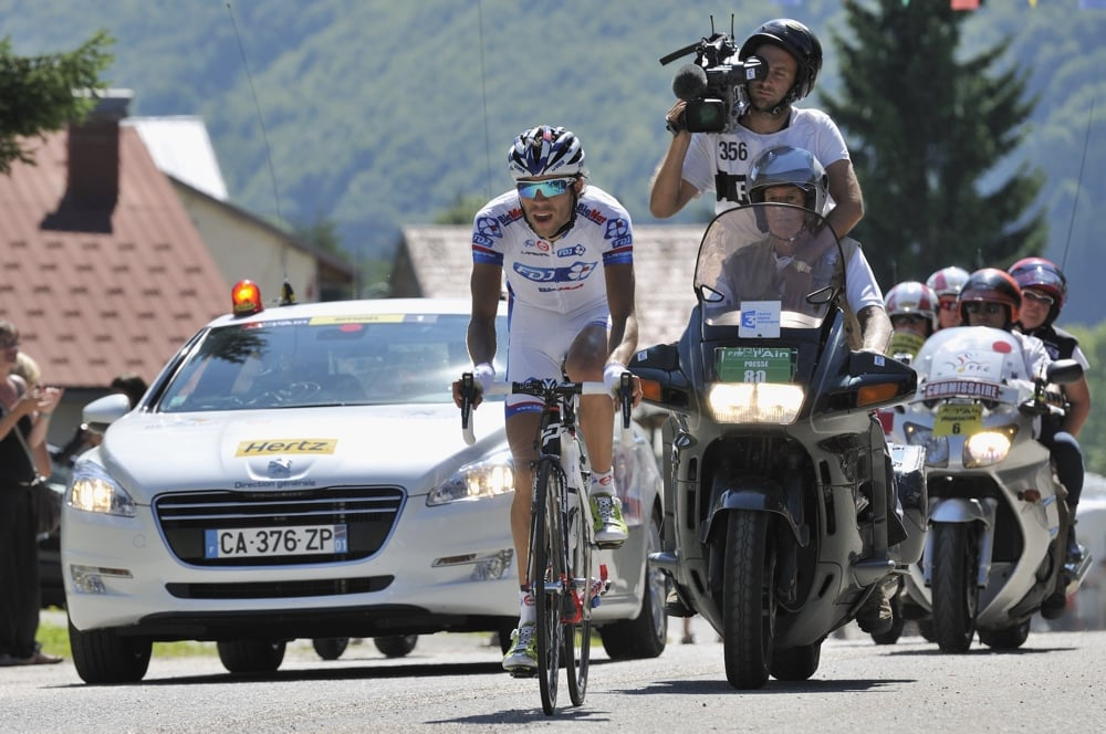 Grand Tour podium rider Thibaut Pinot